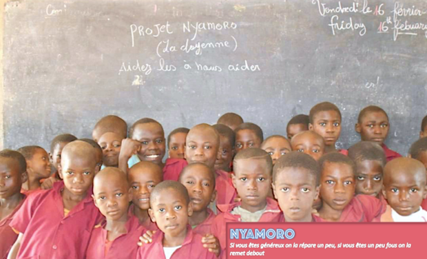 Projet solidaire Nyamoro