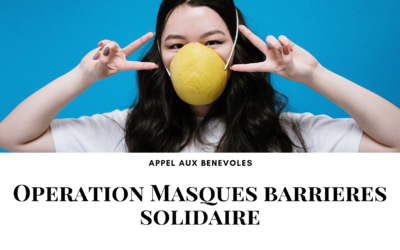 Opérations masques barrières solidaires